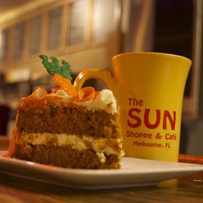 sun shoppe carrot-cake